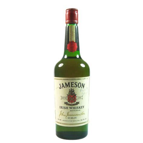 jameson irish whiskey seventies bottling