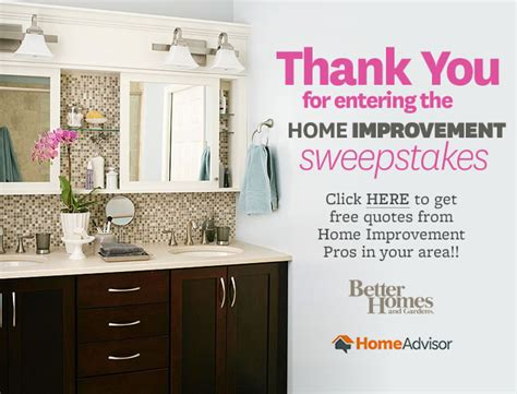 home renovation sweepstakes adchoices