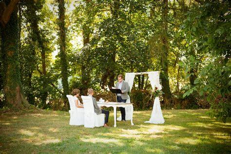 Garten Trauung by Die Freie Trauung Marina Und In Br 252 Hl Findet