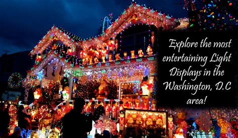best light displays near washington d c