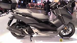 Honda Forza 125 2018 : 2018 honda forza 125 abs scooter walkaround 2017 eicma ~ Melissatoandfro.com Idées de Décoration