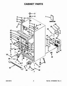 Whirlpool Wrx735sdbm00 Bottom Mount Refrigerator Parts And