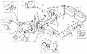 Ford 4000 Tractor Electrical Diagram