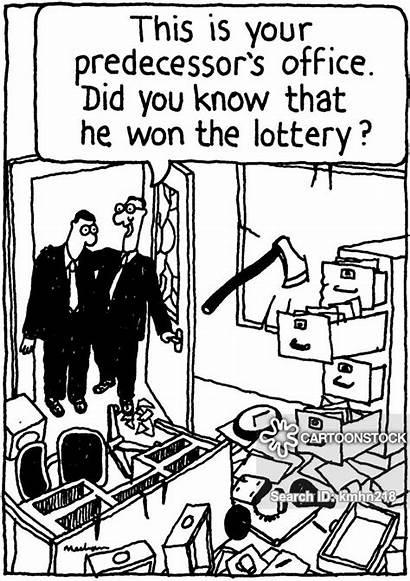 Lotto Win Lottery Cartoon Funny Cartoons Did