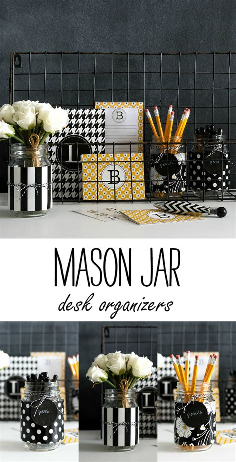desk organizer ideas jar desk organizers it all started with paint