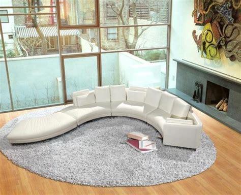 canapé sol le canapé d 39 angle arrondi comment choisir la meilleure