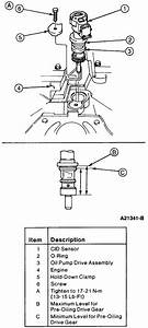 How Do I Time The Camshaft Position Sensor Of A 94 Madza