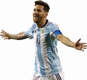 Lionel Messi football render - 26506 - FootyRenders