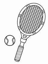 Tennis Racket Tennisracket Coloring Kleurplaat Leukekleurplaten Kleurplaten Tennisbal 1001coloring Windsurfing Kolorowanki Kleur Sportowe sketch template