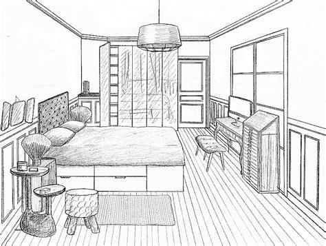 comment dessiner sa chambre awesome chambre en perspective avec point de fuite photos