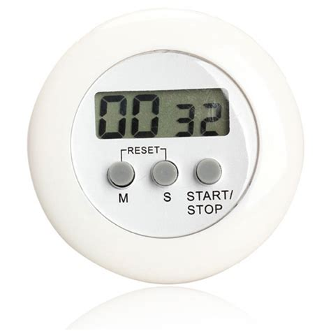 timer masak dapur 5 color digital alarm minimalis time machine wa150 white jakartanotebook