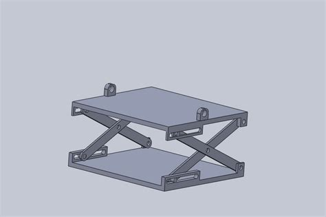 3d Models For Scissor-car-jack