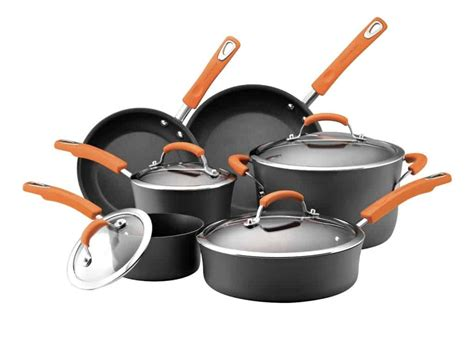 cookware ray rachael healthy anodized hard healthiest pans pots quality brand piece food network safest ii