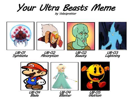 Pokemon Sun And Moon Memes - ultra beast meme pok 233 mon sun and moon know your meme