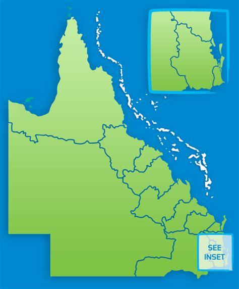 queensland maps queensland australia