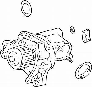 Toyota Celica Water  Pump  Engine  Housing  Incl Water