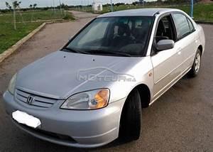 Honda Civic Essence : honda civic 2003 essence 146790 occasion rabat maroc ~ Medecine-chirurgie-esthetiques.com Avis de Voitures