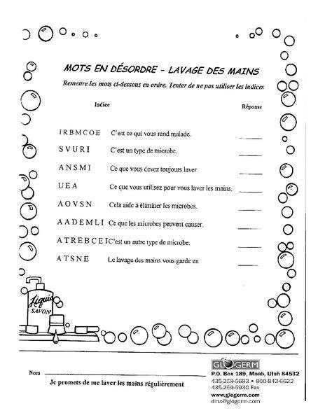 hygiene worksheet for 6th 7th grade lesson planet
