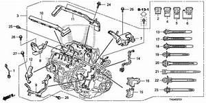 Oem 2009 Honda Accord Sedan Engine Wire Harness  V6  Parts