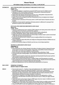 Workday Resume Implementation Lead Resume Samples Velvet Jobs