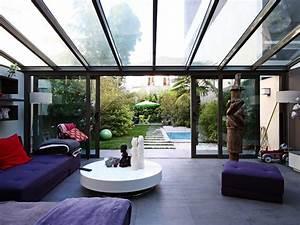 courbevoie maison contemporaine avec piscine agence ea With location villa montpellier avec piscine