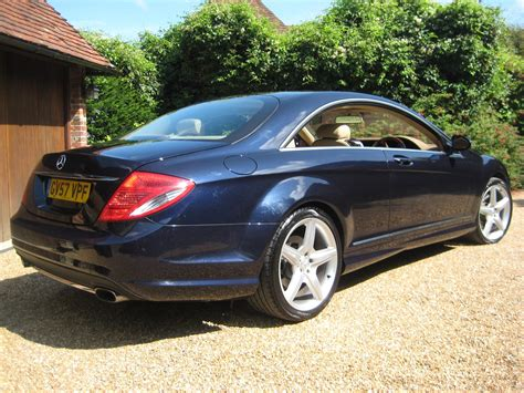 how petrol cars work 2008 mercedes benz cl class engine control used 2007 mercedes benz cl 500 for sale in east sussex pistonheads
