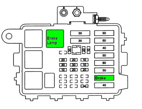 1995 Tahoe Fuse Box Diagram by No Brake Lights On My 1998 Gmc 1500 4wd