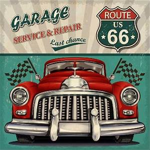 Garage Route 66 : 8x8ft garage service repair us route 66 vintage car flags custom photography studio backdrops ~ Medecine-chirurgie-esthetiques.com Avis de Voitures