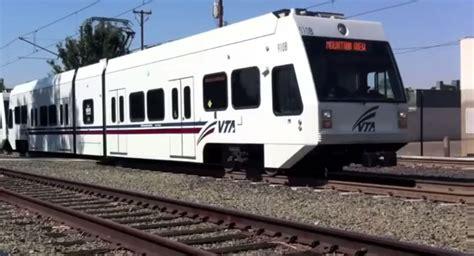 san jose light rail light rail crashes into vehicle vta office