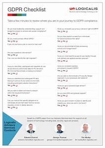 gdpr checklist With gdpr document