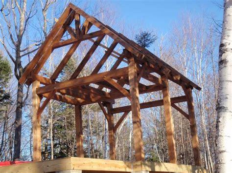 maine mountain timber frame cabin black dog timberworks