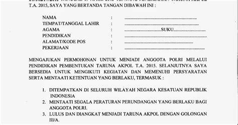 Contoh Surat Lamaran Menjadi Prajurit Tni Ad Tamtama Bagi Contoh Surat