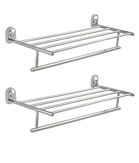 Towel Hanger For Bathroom India Buy Doyours 2 Sets Of Stainless Steel Dolphon Series