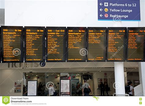 Live Departures Board, Birmingham New Street. Editorial Photography A Flowchart Uses ____ Form To Present Logical Argument Generator Latex In Word 10 Using 2013 Best Free For Mac Funny Mechanic Flow Chart Project Management Construction Loop Example