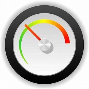 SPEEDOMETER VECTOR ICON - Download at Vectorportal