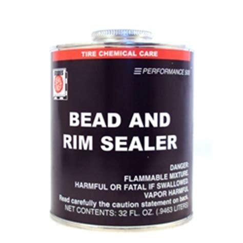 tire repair liquid bead  rim sealer bowes tc   quart