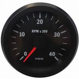 333015038 Cockpit Vision Gauge Tachometer Vdo