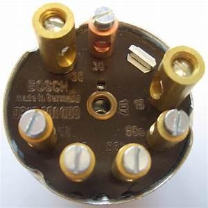 Oldtimer Jehle  Lichtschalter Bosch 4 Schaltstellung