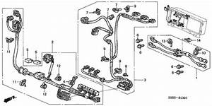 Oem 2003 Honda Civic Hybrid Sedan Ima Wire Harness Parts