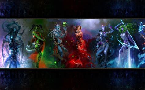 warcraft wow draenei elf undead blood paladin wallpapers hd shaman fantasy elves warrior artwork human night woman backgrounds background trolls