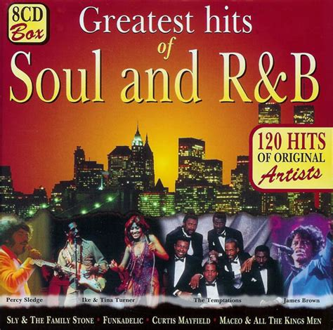 Various  Greatest Hits Of Soul And R&b (cd) At Discogs