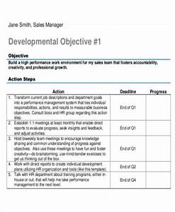 6 sample sales action plans sample templates With sales manager action plan template