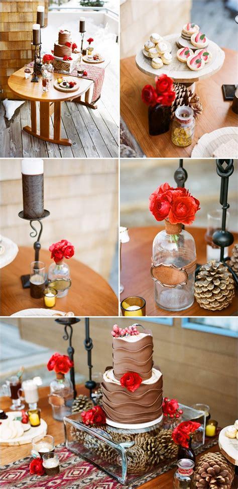 original winter table decor ideas digsdigs