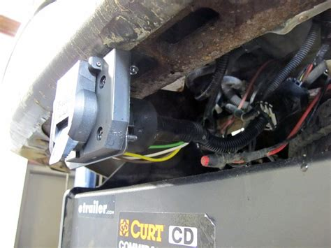 Silverado Trailer Wiring Harnes by 2000 Chevrolet Silverado Custom Fit Vehicle Wiring Tekonsha