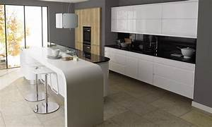 remo gloss white contemporary kitchen With kitchen cabinet trends 2018 combined with 3d panel wall art