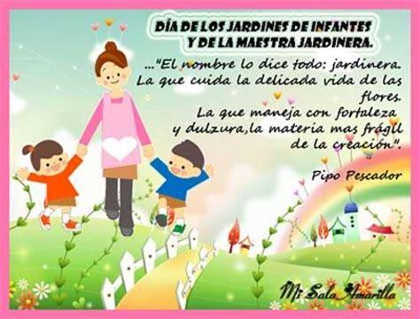 28 de mayo im 225 genes con frases d 237 a de los jardines de infantes y maestras jardineras