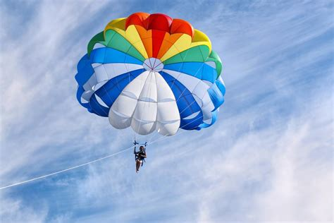 A Brief Explanation of the Working Principle of a Parachute