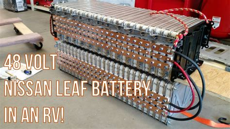 rv house battery part  reconfigure  nissan leaf