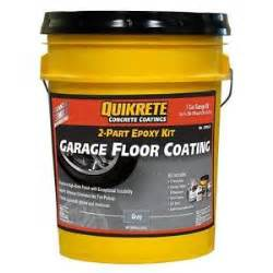 brand no qk07036 quikrete garage floor epoxy gray kit ebay