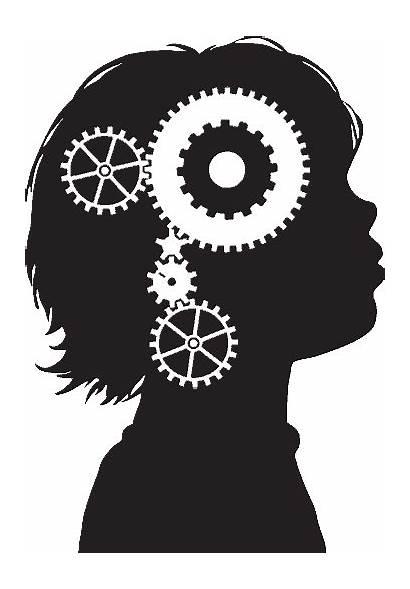 Gears Turning Brain Cogs Machine Gear Psychology